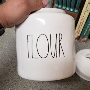 Rae dunn FLOUR LL canister
